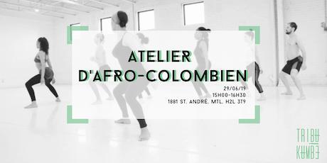 Atelier d'Afro-Colombien │ Tribu Kumbé billets