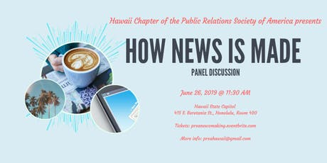 'How News is Made' Panel Discussion tickets