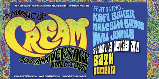 The Music Of Cream - 50th Anniversary World Tour (Komedia, Bath)