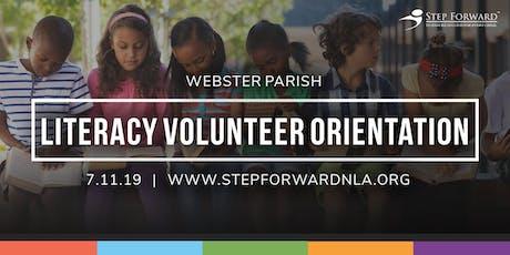 Webster Parish Literacy Volunteer Orientation tickets