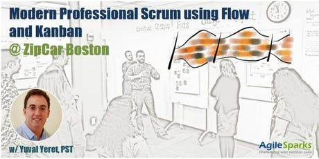 Getting to Modern Professional Scrum using Flow and Kanban tickets