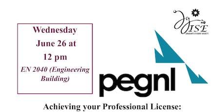 PEG-NL Workshop tickets