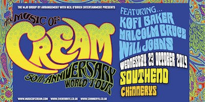The Music Of Cream - 50th Anniversary World Tour (Chinnerys, Southend)