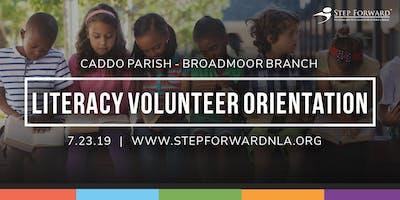 Literacy Volunteer Orientation: Broadmoor Branch