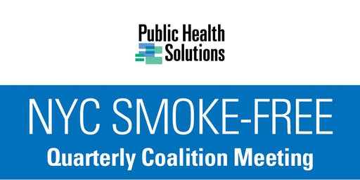 NYC Smoke-Free Quarterly Meeting - October 17th
