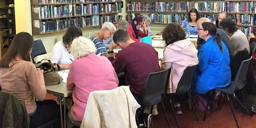 Community Conversations Poetry Workshop with Tongues&Grooves