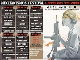 Mechanismus Festival 3 Day Pass