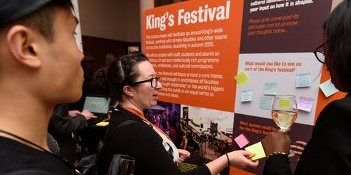 King's Festival Information Session - Strand Campus