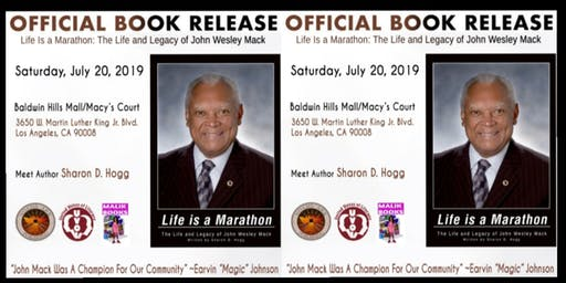 Malik Books Presents: Life is A Marathon (Book Signing)