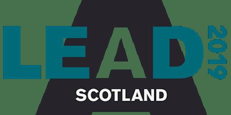 LEAD Scotland tickets