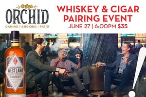 Whiskey and Cigar Pairing Event