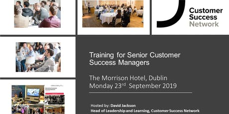 Join our Skills for Senior CSMs training  tickets