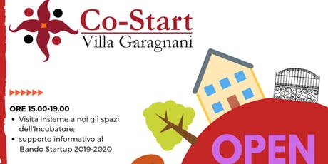 OPEN DAY CoStart Villa Garagnani tickets