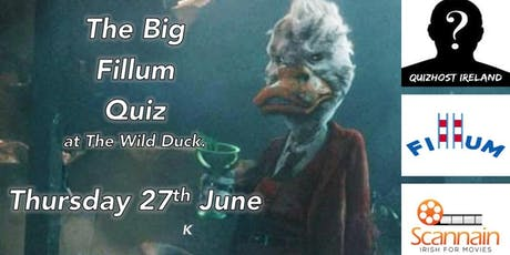The Big Fillum Table Quiz 27th June tickets