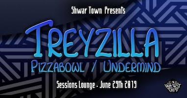 Shwar Town: TreyZilla, PizzaBowl, Undermind