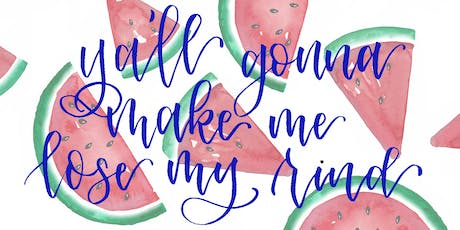 Watermelon Watercolor Workshop at The Nieghborgoods tickets