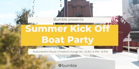 Bumble Summer Kick Off Boat Party Tickets