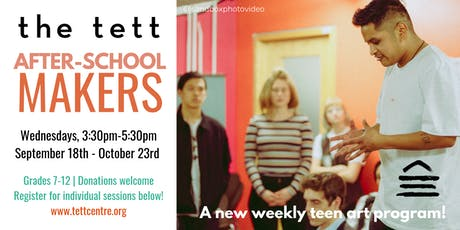 After-School Makers: Collaborative Art Installation with Francisco Corbett  tickets