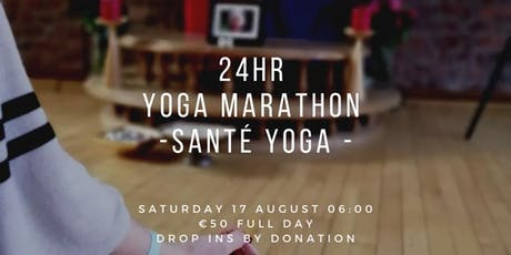 Yoga Marathon - 24 hour yoga, sound, meditation immersive experience billets