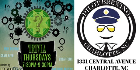 HeadTilt Trivia at Pilot Brewing Company - Charlotte, NC tickets