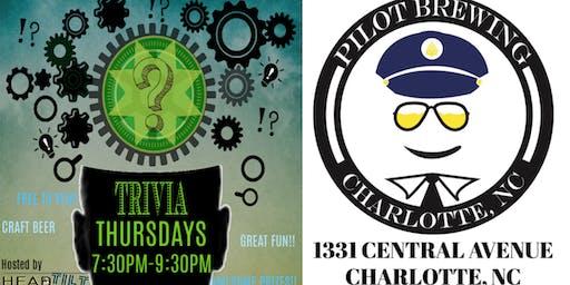 HeadTilt Trivia at Pilot Brewing Company - Charlotte, NC