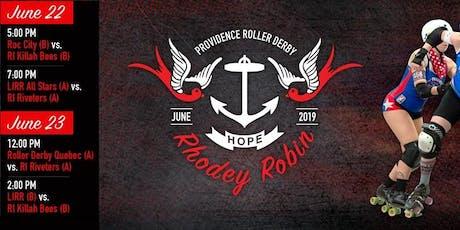 Providence Roller Derby Rhodey Robin Tournament 2019 tickets