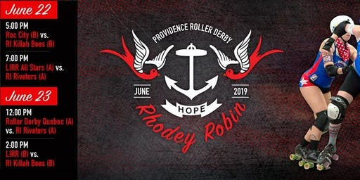 Providence Roller Derby Rhodey Robin Tournament 2019