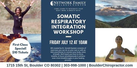 Somatic Respiratory Integration Workshop tickets