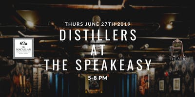 Distillers at The Speakeasy - MaCallan's Night at The Alex