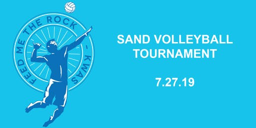 Feed Me The Rock Sand Volleyball Tournament