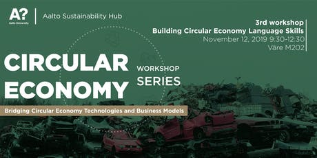 Building Circular Economy Language Skills  tickets