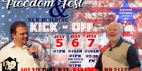 Freedom Fest 2019 w/ Dan Mohler tickets