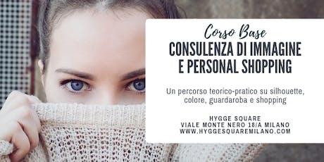 Corso Base Consulenza di Immagine e Personal Shopping biglietti