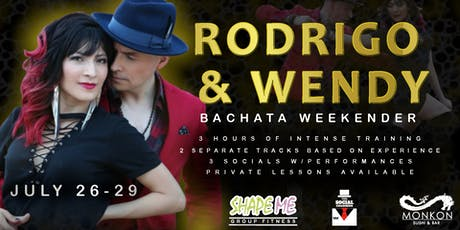 Rodrigo and Wendy Bachata Weekender tickets