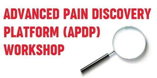 Advanced Pain Discovery Platform Workshop