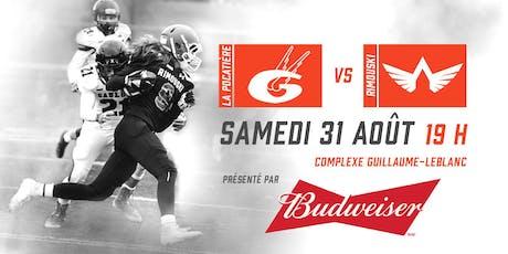 Match d'ouverture Budweiser - La Pocatière VS. Rimouski billets