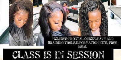 Frontal Quickweave and Braid Techniques Course