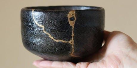 Céramique traditionnelle japonaise : Atelier Kintsugi à L'Atelier Geneviève billets