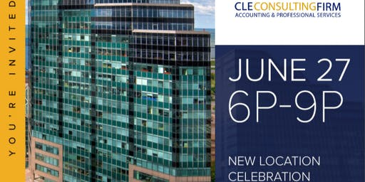 CLE Consulting Firm's New Location Celebration