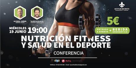 Nutrición Fitness y Salud en el Deporte entradas