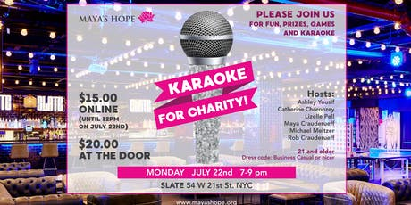 Maya's Hope Karaoke for Charity 2019 tickets