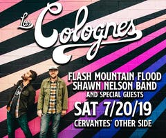 Los Colognes w/ Flash Mountain Flood, Shawn Nelson Band