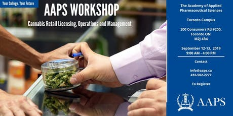 Cannabis Retail Licensing, Operations and Management Workshop tickets