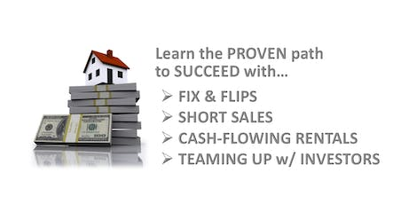 LEARN HOW TO DO SHORT SALES, FIX & FLIPS AND CASH FLOW RENTALS - NYC tickets