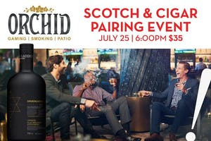 Scotch & Cigar Pairing Event