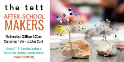 After-School Makers: Gemstone Trees with Heather Kushum Sheedy
