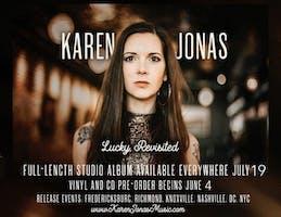 """Karen Jonas, """"Lucky Revisited"""" Album Release Show"""