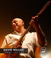 David Wilcox - Live at The KEE to Bala Friday July 26th