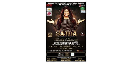 Richa Sharma Live in concert tickets