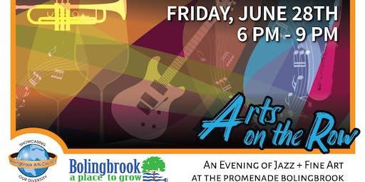 Arts On the Row: An Evening of Jazz & Fine Art